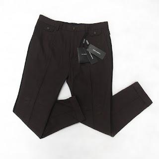Dolce & Gabbana NEW Maroon Trousers