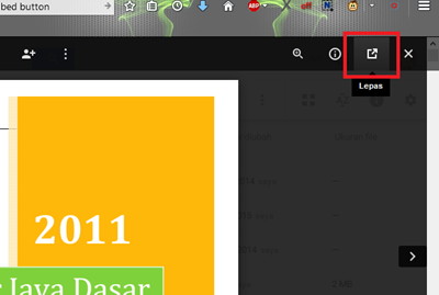 embed PDF Blogger 13