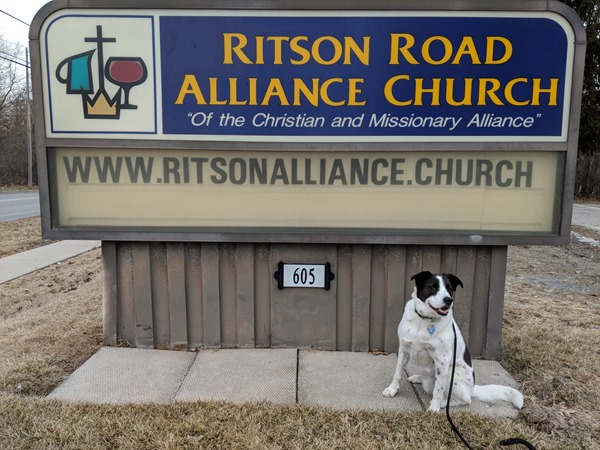 Ritson Road Alliance Church sign in Oshawa