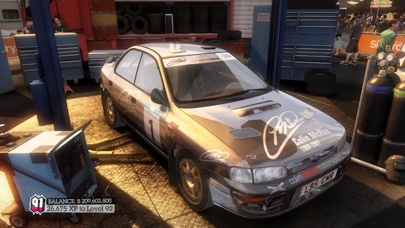 รายการรถกลุ่ม Rally ใน DiRT2 555-00