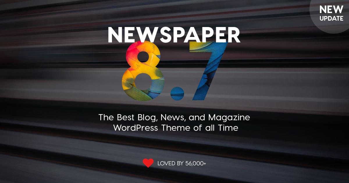 Newspaper version 8.7