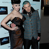 WWW.ENTSIMAGES.COM -  Viktoria Modesta and Adamski   at   Chortle Comedy Awards at Café de Paris, Coventry Street, London, March 25th 2013                                                 Photo Mobis Photos/OIC 0203 174 1069