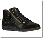 Geox Zip Detail High Top Sneakers