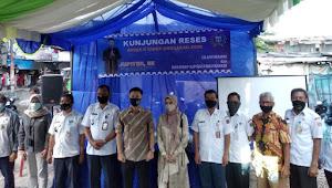 Ahmad Lukman Jupiter DPRD Komisi C DKI Jakarta,Menyerap Aspirasi Masyarakat Dirw 04,Kelurahan Duri kepa
