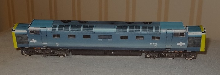 1961 Deltic Classe SS - British Rail