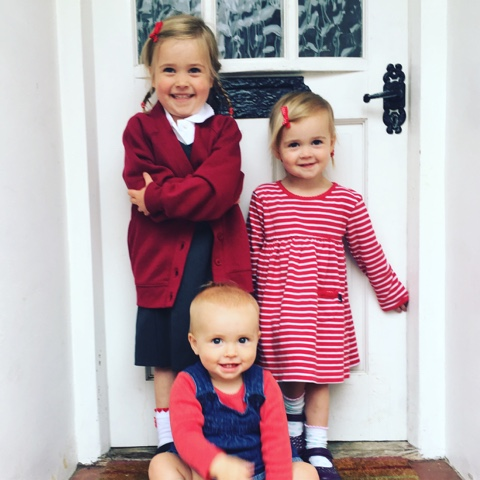 Ellie starting school!