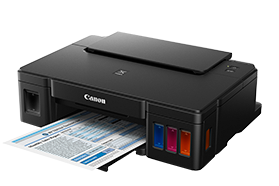 Reset Canon G1100 printer's Ink Pad at the end of it service life error