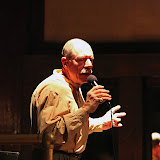 Nationally renowned vocalist Giacomo Gates performed at the October 09 Jazz Gumbo, with outstanding support from The Guffman Trio. The Guffman Trio, with Cynthia Domulot (piano), Fred Domulot (drums) and Tom Latenser (bass) is one of the best jazz groups on the Gulf Coast, and impressed Giacomo with their able musicianship. He provided them plenty of opportunity to shine, by trading vocal riffs with each musician -- using his voice to create drum sounds, bass leads, trombone, and more.  Giacomo joined us between gigs at various Jazz Festivals in the South, and following this performance, headed to Washington DC to perform at the Kennedy Center.  The audience was enthusiastic and called for several encores before letting the show end.