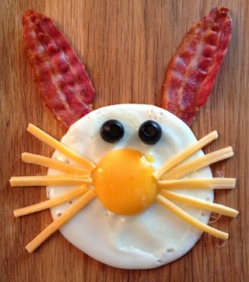 Easter Bunny Fried Egg