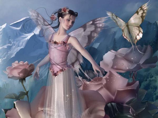 Beautiful Pixy Of Wizdom, Fairies 4
