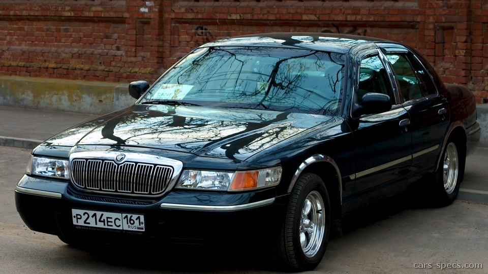 2001 Mercury Grand Marquis Sedan Specifications, Pictures ...