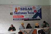 LSM SIGAB, FPII, PPWI, PAMPD DKI Sinergi Gelar Santunan Yatim Piatu dan Dhuafa