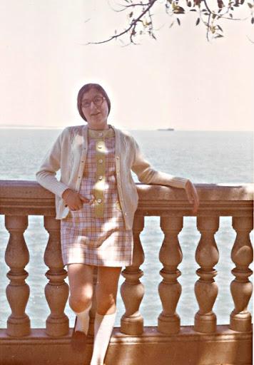 Eva en Cádiz. El mirador de la bahía, vista desde el Gobierno Militar