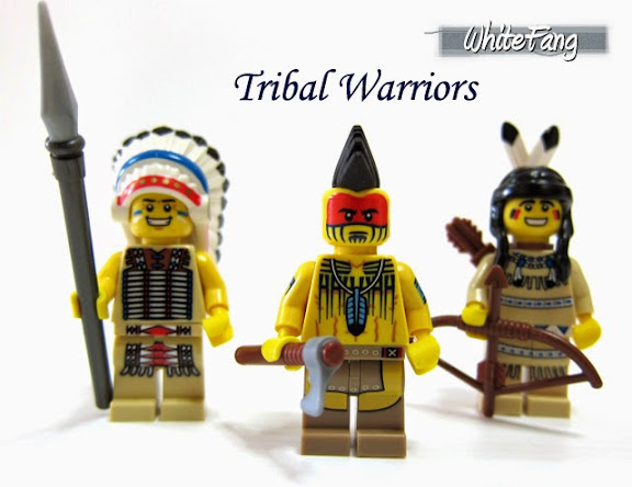 LEGO Minifigures Series 10 Tomahawk Warrior