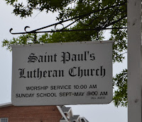 St. Paul's Cumberland 2015 Sign