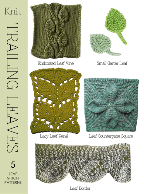 Vine Leaf Knitting Pattern : DiaryofaCreativeFanatic