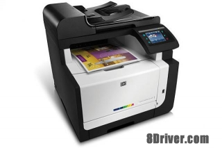 download driver HP LaserJet Pro CM1415fnw Printer