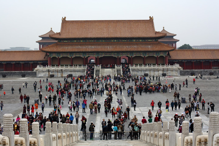 Gate of Supreme Harmony back view Forbidden City