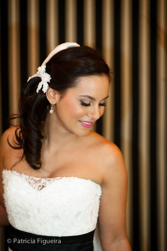 Foto de casamento 0295 de Nina e Guga. Marcações: 24/09/2011, Casamento Nina e Guga, Cotrim, Fotos de Maquiagem, Maquiagem, Maquiagem de Noiva, Rio de Janeiro.