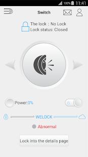 WeLock - náhled