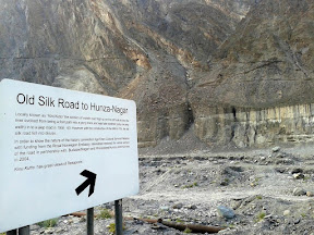 Old silk road, Hunza/Nagar