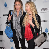 OIC - ENTSIMAGES.COM - Ali Currey and Betsy-Blue English at the NUDESTIX - launch party celebrating the launch of a new lip line from the cosmetic brand  in London  2nd June  2016 Photo Mobis Photos/OIC 0203 174 1069