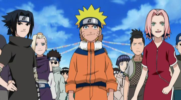 Kỳ Thi Chuunin - Naruto Vs Konohamaru - Naruto Ova 8: Honoo No Chuunin Shiken Naruto Vs Konohamaru - Image 2