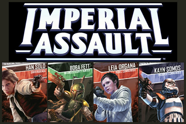 Imperial Assault y sus expansiones