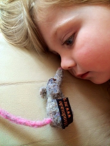 Maegan Darcie Clement, Felted mouse, Mrs Fox's