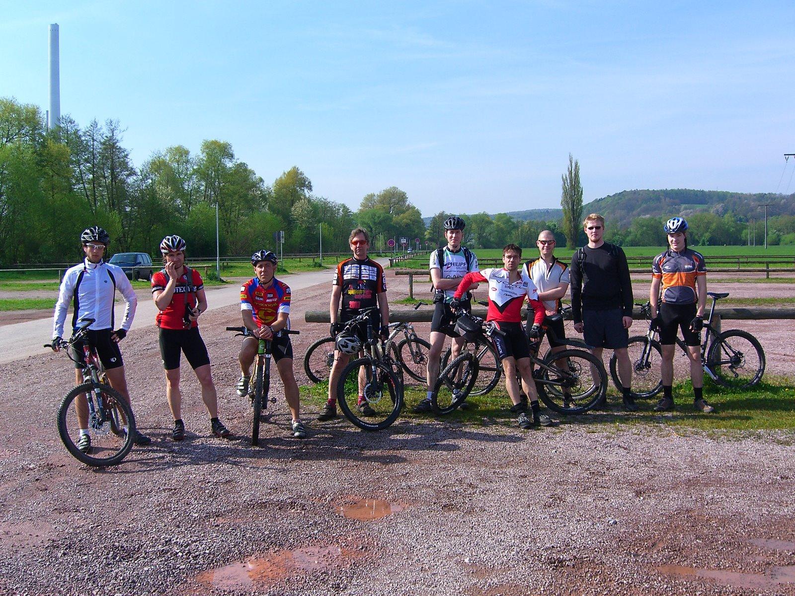 Spessart-Biker Tour am 27.04.2008