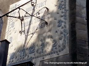 Bolesławiec zegar słoneczny na bazylice