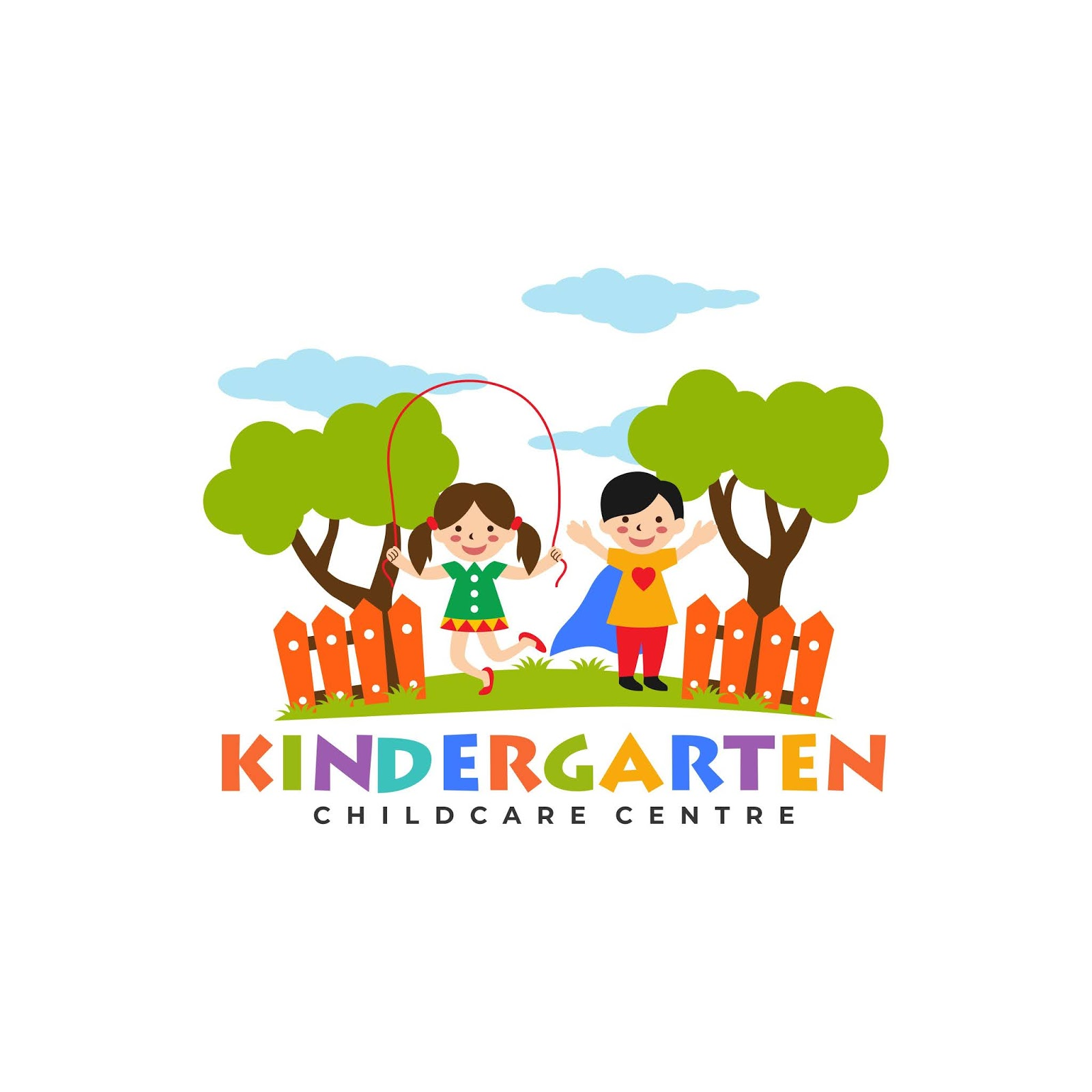 Kindergarten Logo Templates Free Download Vector CDR, AI, EPS and PNG Formats