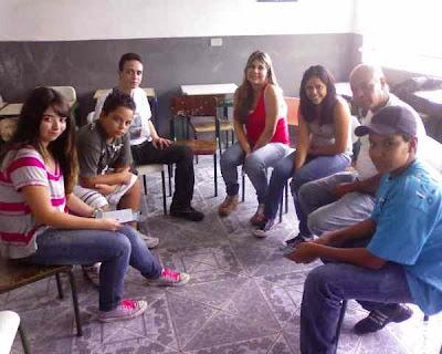 1° Encontro da JM na Comunidade de Santa Isabel de Portugal, Paróquia Santa Rita de Cássia, em Guarulhos/SP