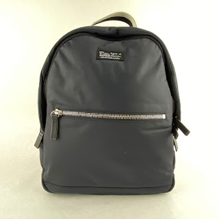 Agnes B. Voyage Small Backpack in Midnight Blue