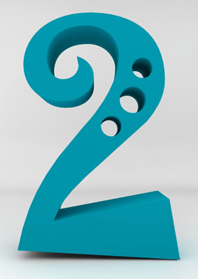lettre 3D homme joker turquoise - 2 - images libres de droit