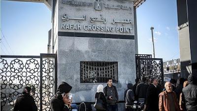 Pintu Perbatasan Mesir - Rafah Terbuka Untuk Calon Jemaah Haji Gaza.