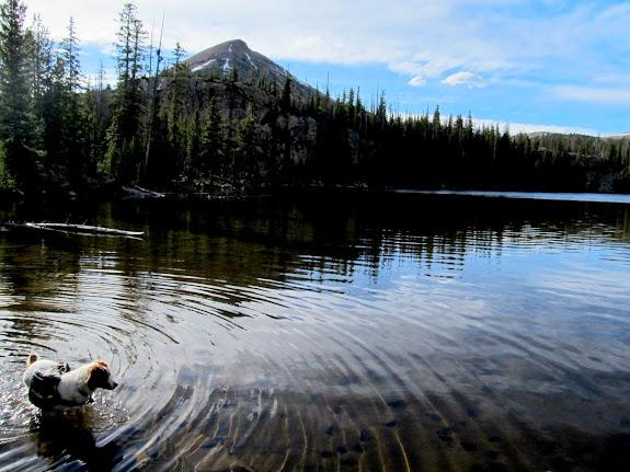 Cliff Lake and Mt. Watson