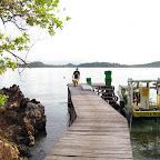 Jetty at Mimpi Indah, Bangka Island