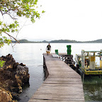 Jetty at Mimpi Indah, Bangka Island