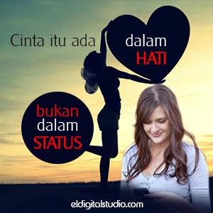 Cinta ada dalam hati