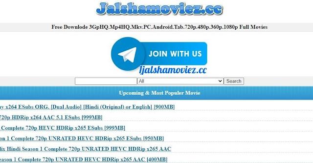 Jalshamoviez 2021: Jalshamoviez is the best site for Bollywood movies.
