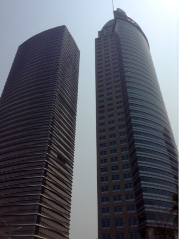 Xiamen tower blocks