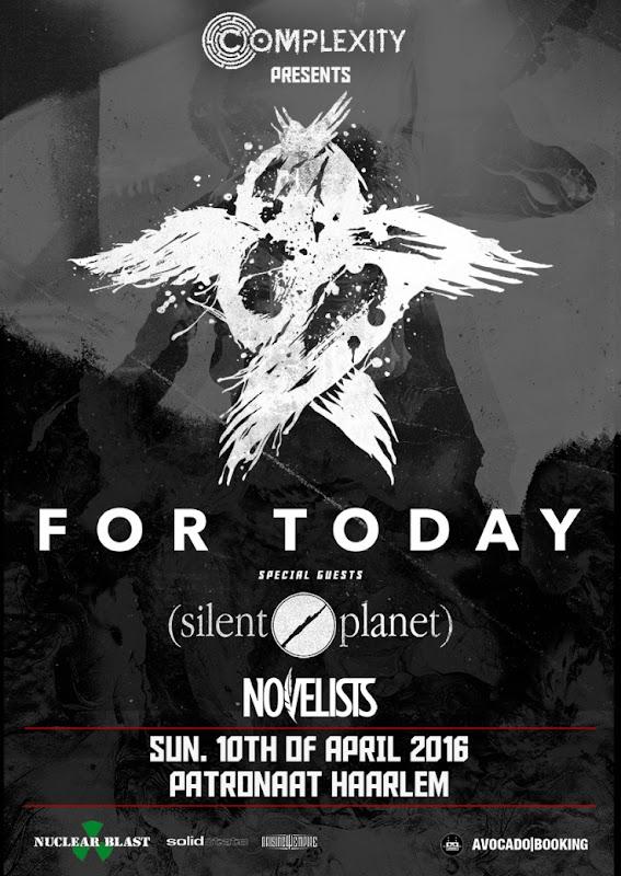 For Today (USA) + Silent Planet (USA) + Novelists (FRA) - For%2BToday%2Bweb.jpg