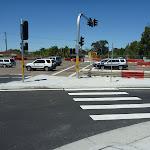 Crossing road near Charlestown Park (337615)