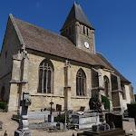 Eglise St-Ouen de Berthenonville et cimetière