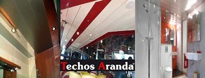 Techo aluminio Madrid