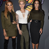 OIC - ENTSIMAGES.COM - Stooshe - Alexandra Buggs, Karis Anderson and Courtney Rumbold at the  Notion Magazine x Swatch - issue 70 launch party  London 9th September 2015 Photo Mobis Photos/OIC 0203 174 1069