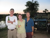 Sundowners - Thornybush Reserve, Kruger NP, South Africa