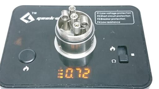 DSC 7237 thumb%255B2%255D - 【RDA】 ACHILLES dual RDA by Titanium Mods (アキレスデュアルRDA)レビュー。アキレスIIのデュアルビルド対応バージョン!チタン製で軽量・爆煙・味良し