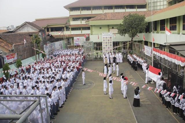 Kemeriahan Lomba dan Upacara Hari Kemerdakaan Republik Indonesia Ke 74 di SMA-SMK Budhi Warman II